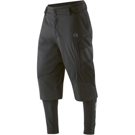 Gonso Sirac 3-in-1 Softshell Broek Pad Heren, black